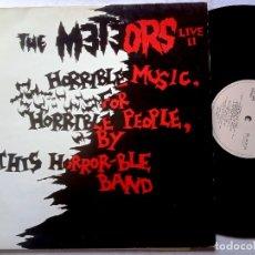 Discos de vinilo: THE METEORS - LIVE II - LP UK 1986 - DOJO. Lote 180119765