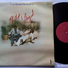 Discos de vinilo: THE BLUES BUSTERS - PHILLIP & LLOYD - LP ESPAÑOL 1977 - SCEPTER / ZAFIRO. Lote 180121085