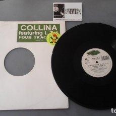 Discos de vinilo: COLLINA* FEATURING L.T.J.* - BABE WHAT'S GOIN ON (12) SUPREME RECORDS . Lote 180121243