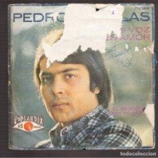 Discos de vinilo: SINGLES ORIGINAL PEDRO RUIZ-BLAS. Lote 180123577