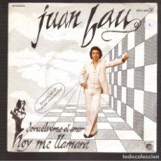 Discos de vinilo: SINGLES ORIGINAL JUAN BAU. Lote 180124648