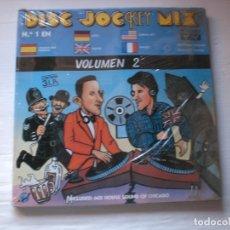 Disques de vinyle: DISC.JOCKEY MIX. VOLUMEN 2.- CAJA CON 3 LPS. NUEVA Y PRECINTADA. VER TITULO + FOTO. Lote 180124982