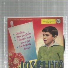 Discos de vinilo: JOSELITO CLAVELITOS . Lote 180125678