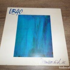 Discos de vinilo: UB40 - PROMISES AND LIES. Lote 180128033