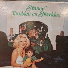 Discos de vinilo: 1977 NANCY TAMBIÉN NAVIDAD VENEZUELA PROMUS. Lote 180130300