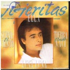 Discos de vinilo: TIJERITAS - LUNA LUNERA - SINGLE 1990 - PROMO. Lote 180130668