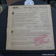Discos de vinilo: UB40 - SIGNING OFF. Lote 180131621