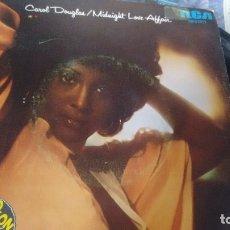 Discos de vinilo: SINGLE ( VINILO) DE CAROL DOUGLAS AÑOS 70. Lote 180133492