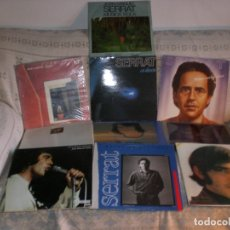 Discos de vinilo: LOTE 9 ALBUMES JOAN MANUEL SERRAT EXCELENTE ESTADO VER TITULOS EN FOTOS ADJUNTAS VER + INFORMACION *. Lote 180134578