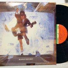 Discos de vinilo: DISCO LP VINILO AC/DC – BLOW UP YOUR VIDEO EDICION AMERICANA DE 1988. Lote 180138357