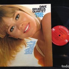 Discos de vinilo: DAVE BRUBECK / ANGEL EYES 1965 ! PAUL DESMOND, COOL JAZZ !! GREAT EDIT ORG USA !! IMPECABLE !. Lote 180138761