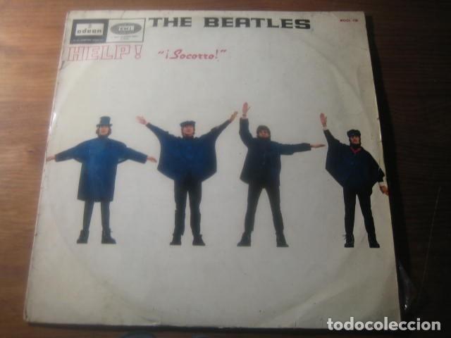 THE BEATLES - HELP *********** RARO LP ESPAÑOL MONO 1965 (Música - Discos - LP Vinilo - Pop - Rock Extranjero de los 50 y 60)