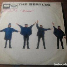 Discos de vinilo: THE BEATLES - HELP *********** RARO LP ESPAÑOL MONO 1965. Lote 180138773