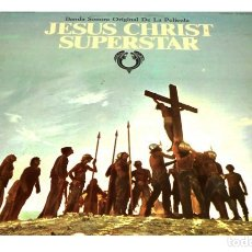 Discos de vinilo: V63 - JESUCRISTO SUPERSTAR. BANDA SONORA DE LA PELICULA. DOBLE LP VINILO. Lote 180139887