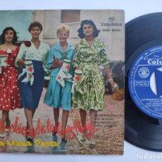Discos de vinilo: LAS CHICAS DE LA CRUZ ROJA - EP SPAIN PS - MINT * ANA MARIA PARRA * COLUMBIA 1958. Lote 180144691