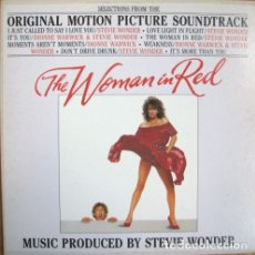 Discos de vinilo: STEVIE WONDER - THE WOMAN IN RED - MOTOWN ZL 72285 - 1984 - EDICIÓN ITALIANA. Lote 180145678
