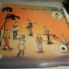 Discos de vinilo: LP LOS PERICOS. EMI 1988 SPAIN. PROCEDENTE DE EMISORA RADIO CON ENCARTE (PROBADO Y BIEN, SEMINUEVO). Lote 180147201