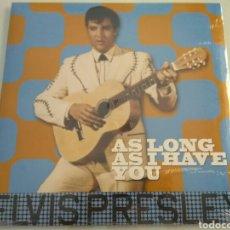 Discos de vinilo: LP ÁLBUM DISCO VINILO ELVIS PRESLEY AS LONG AS I HAVE YOU NUEVO PRECINTADO. Lote 180149935