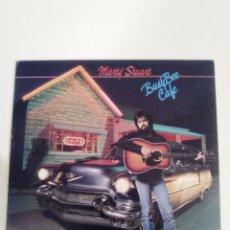 Discos de vinilo: MARTY STUART BUSY BEE CAFE ( 1982 SUGAR HILL USA ) JOHNNY CASH DOC MERLE WATSON EARL SCRUGGS. Lote 180150652