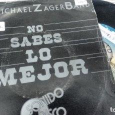 Discos de vinilo: SINGLE ( VINILO) DE THE MICHAEL ZAGER BAND AÑOS 70. Lote 180153876