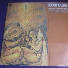 Discos de vinilo: COCENTAINA LP DIAL 1980 PRECINTADO - MOROS Y CRISTIANOS - BANDA UNION MUSICAL CONTESTANA - VILAPLANA. Lote 211627536