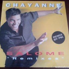 Discos de vinilo: CHAYANNE - SALOME REMIX BY PM. - MAXI SINGLE.12 - ENVIO GRATIS. Lote 180154720