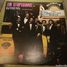 Discos de vinilo: THE TEMPTATIONS - STANDING ON THE TOP. Lote 180156125