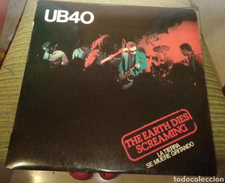 UB40 - THE HEARTH DIES SCREAMING ( LA TIERRA SE MUERE GRITANDO) (Música - Discos de Vinilo - Maxi Singles - Reggae - Ska)
