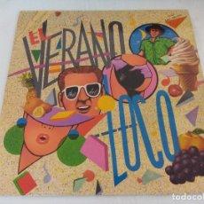 Disques de vinyle: VINILO DANCE/EL VERANO LOCO/MIX LP 87. . Lote 180161842
