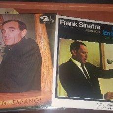 Discos de vinilo: 14 LPS DE DIFERENTES CANTANTES, AZNAVOUR, SINATRA, MATT MONRO, DAVALOS, MARITO, ZITARROSA, ETC, VER. Lote 180163055