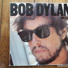 Discos de vinilo: BOB DYLAN - INFIDELS. Lote 180164348