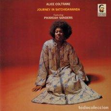 Discos de vinilo: ALICE COLTRANE LP JOURNEY IN SATCHIDANANDA VINILO REEDICION. Lote 180166392