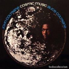 Discos de vinilo: JOHN COLTRANE, ALICE COLTRANE LP COSMIC MUSIC VINILO REEDICION. Lote 180167635