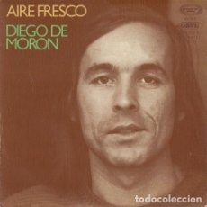 Discos de vinilo: DIEGO DE MORON - AIRE FRESCO - SINGLE DE VINILO #. Lote 180170800
