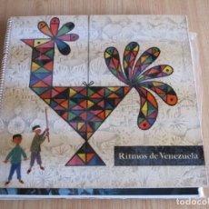 Discos de vinilo: VARIOS - RITMOS DE VENEZUELA - COMPAÑÍA SHELL DE VENEZUELA RLP 796 - 1956 - EDICIÓN VENEZOLANA 2XLP. Lote 180171360
