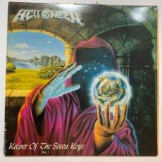 Discos de vinilo: DISCO LP VINILO GATEFOLD HELLOWEEN KEEPER OF THE SEVEN KEYS - PART I PRIMERA EDICION ESPAÑOLA 1987. Lote 180174388