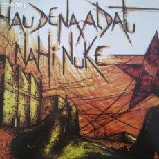 Discos de vinilo: HERTZAINAK HAU DENA ALDATU NAHI NUKE LP SOÑUA 1985 GATEFOLD INSERTO. Lote 180176213