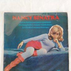 Discos de vinilo: NANCY SINATRA. Lote 180177083