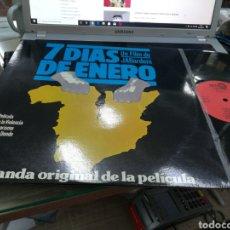 Discos de vinilo: 7 DÍAS DE ENERO B.S.O. LP 1979. Lote 180181036