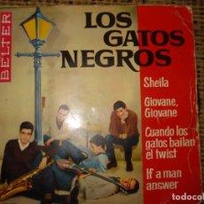 Discos de vinilo: LOS GATOS NEGROS , SHEILA . Lote 180183321
