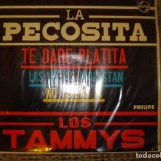 Discos de vinilo: LOS TAMMYS, LA PECOSITA. Lote 180183548