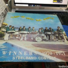 Discos de vinilo: DIVI DIVI JUMPING JEWELS STEELBAND LP JUMP UP WITH THE JEWELS COLOMBIA 1971. Lote 180186206