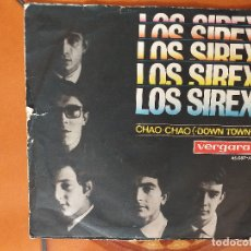 Dischi in vinile: SINGLE. LOS SIREX. QUE BUENO, QUE BUENO/ CHAO CHAO. Lote 180188507