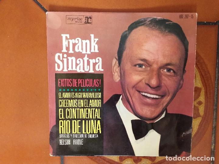 EP. FRANK SINATRA. EL AMOR ES ALGO MARAVILLOSO+3 (Música - Discos de Vinilo - EPs - Cantautores Extranjeros)
