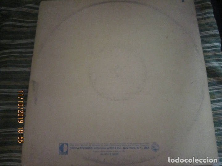 Discos de vinilo: THE WHO - LIVE AT LEEDS LP - ORIGINAL U.S.A. - DECCA RECORDS 1970 - GATEFOLD COVER - - Foto 2 - 180191348