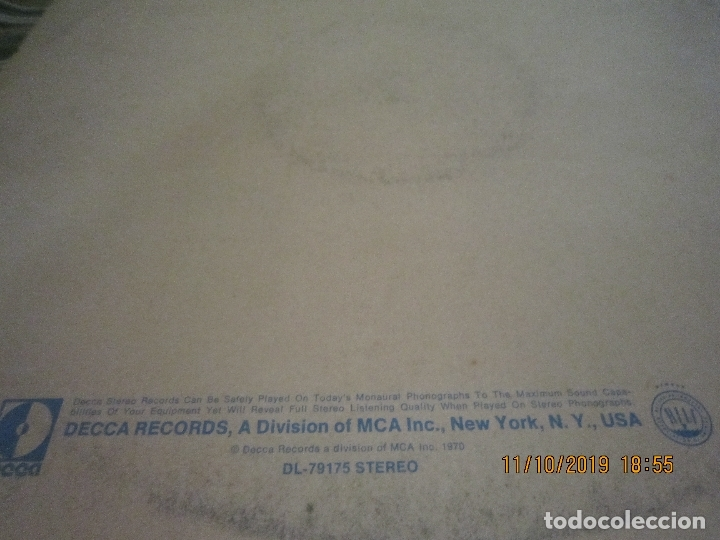 Discos de vinilo: THE WHO - LIVE AT LEEDS LP - ORIGINAL U.S.A. - DECCA RECORDS 1970 - GATEFOLD COVER - - Foto 6 - 180191348