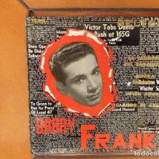 Discos de vinilo: BARRY FRANK CON JIMMY CARROLL Y SU ORQUESTA. EP. Lote 180191393