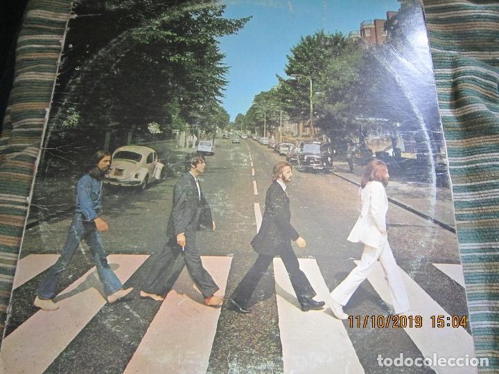 THE BEATLES - ABBEY ROAD LP - ORIGINAL U.S.A. - APPLE RECORDS 1969 CON HER MAJESTY EN CONTRAPORTADA (Música - Discos - LP Vinilo - Pop - Rock Extranjero de los 50 y 60)