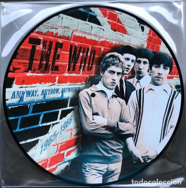 THE WHO * LP VINILO PICTURE DISC * ANYWAY, ANYHOW, ANYWHERE 1965-1966 * RARE * MONO * NUEVO (Música - Discos - LP Vinilo - Pop - Rock Extranjero de los 50 y 60)