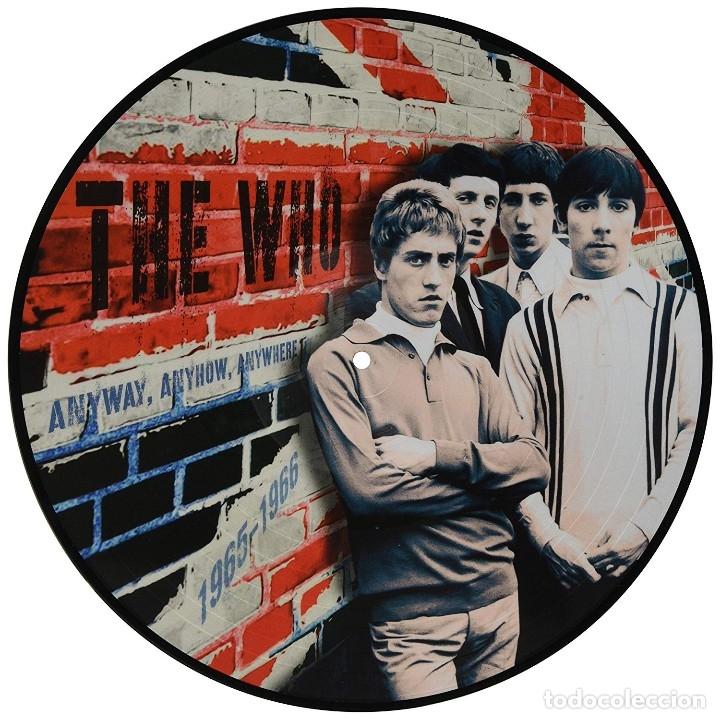 Discos de vinilo: THE WHO * LP VINILO PICTURE DISC * Anyway, Anyhow, Anywhere 1965-1966 * Rare * Mono * Nuevo - Foto 3 - 180199596